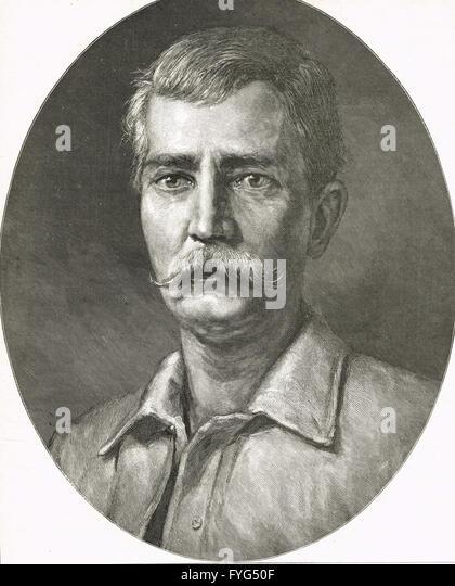 Henry Morton Stanley Journalist & Explorer 1841?1904 - Stock-Bilder