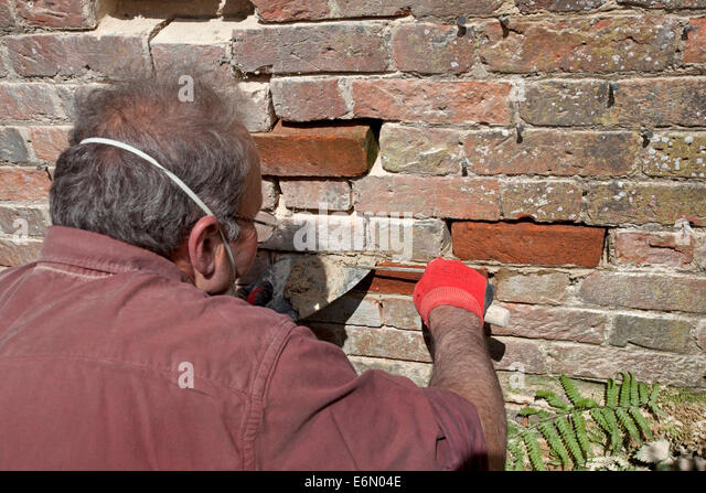 Builders crack stock photos builders crack stock images for Victorian garden walls designs