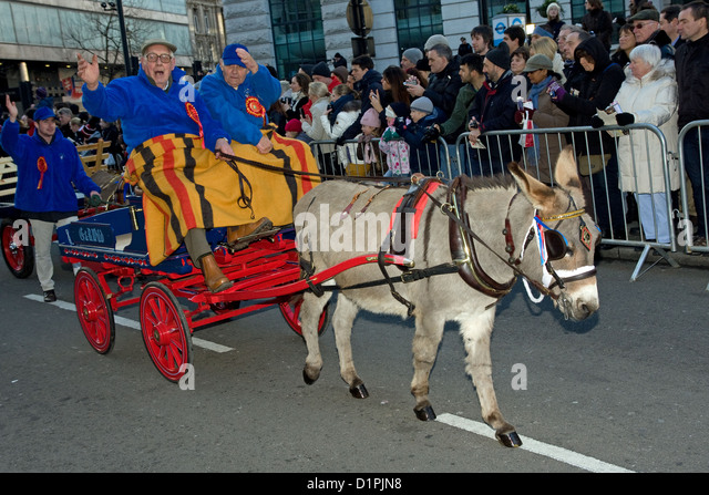 New Years Day Parade London - Stock Image