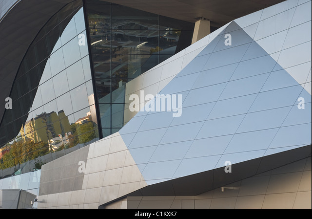Modern Architecture as Symbol of Corporate Identity - Stock Image