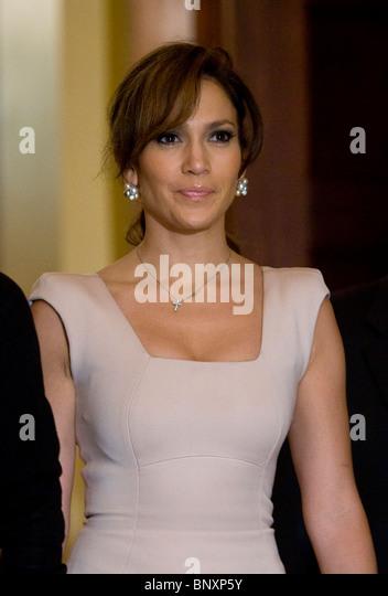 Actress Jennifer Lopez. - Stock-Bilder