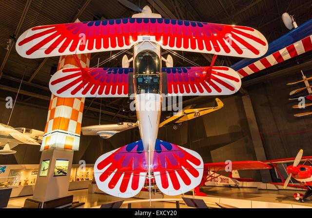 Wisconsin, Oshkosh, Experimental Aircraft Association, EAA AirVenture Museum, aerobatic airplanes, 1977 Christen - Stock-Bilder