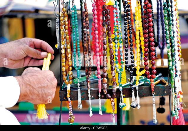 Asia Jordan Amman Rosaries - Stock Image