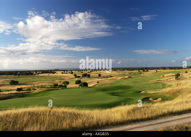 Golf Course - Stock Image