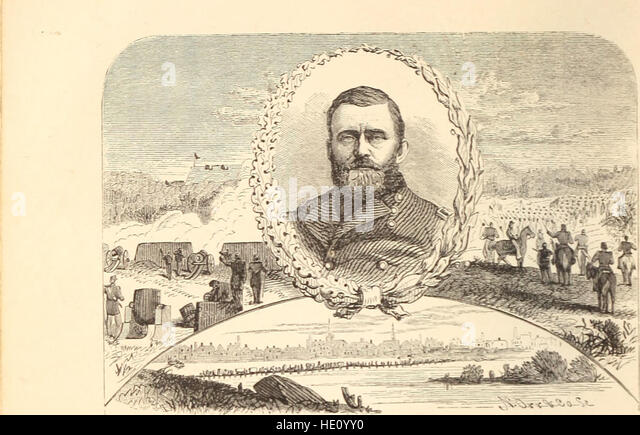 1866 Life and Campaigns of Lt General Stonewall Jackson, Confederate CSA, MAP, 1st