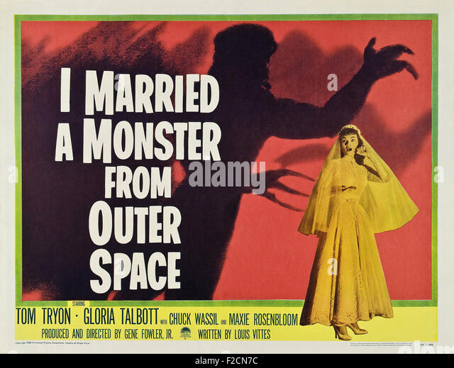 Cinema monster stock photos cinema monster stock images for Outer space leicester