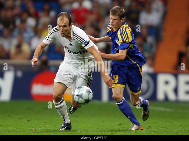 Soccer - UEFA Champions League - Group H - Real Madrid v BATE Borisov - Santiago Bernabeu - Stock Image