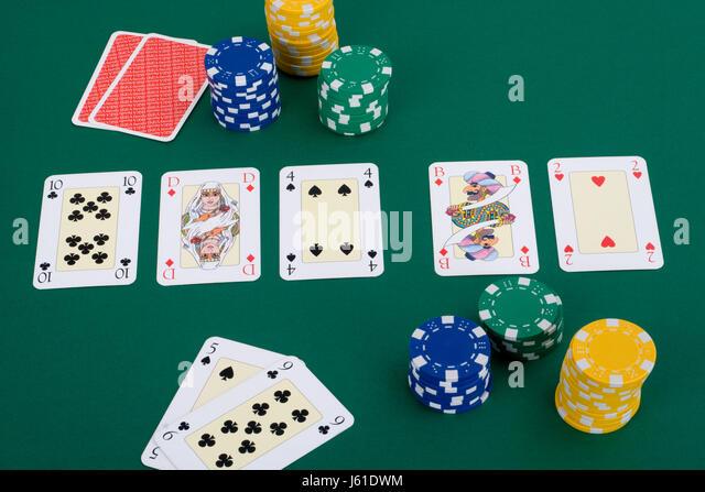 bluffen poker