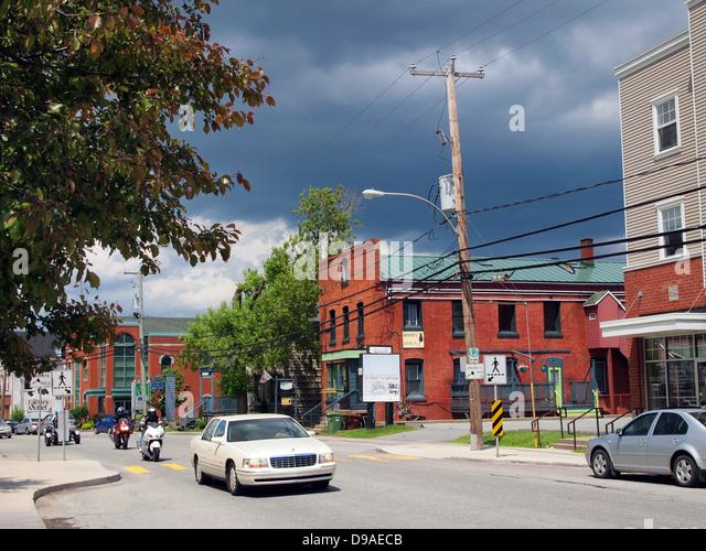 Lennoxville, Quebec, Canada - Stock-Bilder