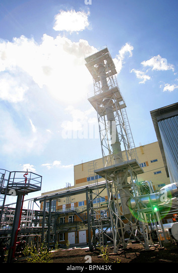 Shchuchye chemical weapons destruction plant launched - Stock Image
