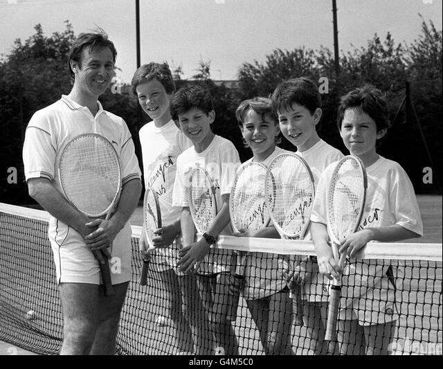 Tennis - Tim Henman - 1988 - Stock Image
