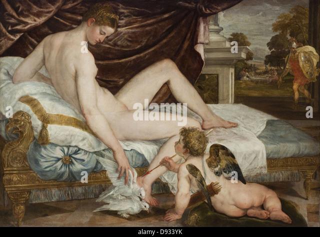 Lambert Frederic Suster Venus XVI th Century - Stock Image