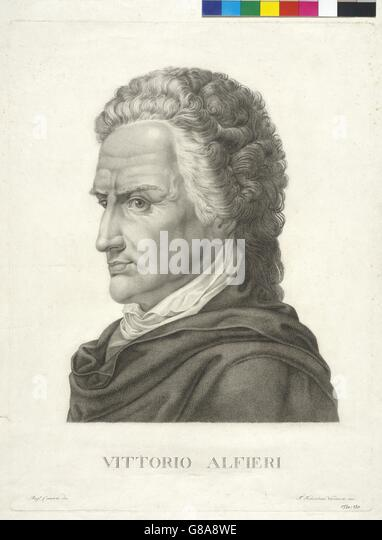 Vittorio Alfieri - Stock Image