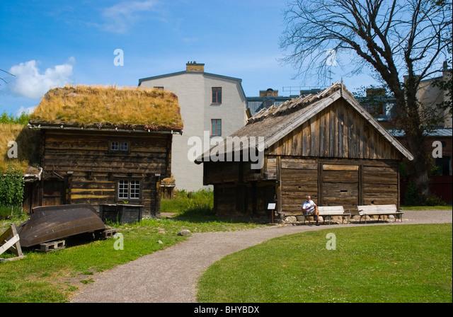 Kulturen the open air museum in Lund Skåne Sweden Europe - Stock-Bilder