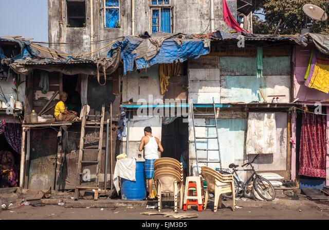 shack in Mumbai, India - Stock Image