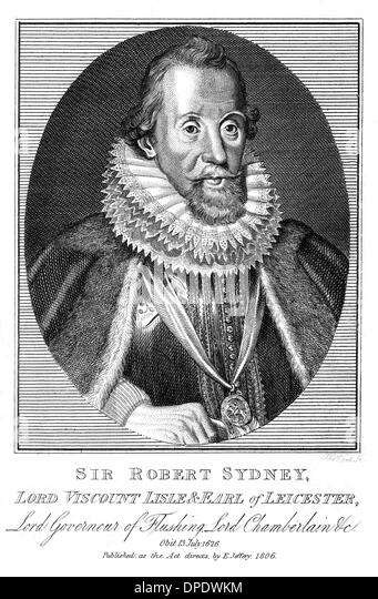 ROBERT SIDNEY LEICESTER - Stock Image
