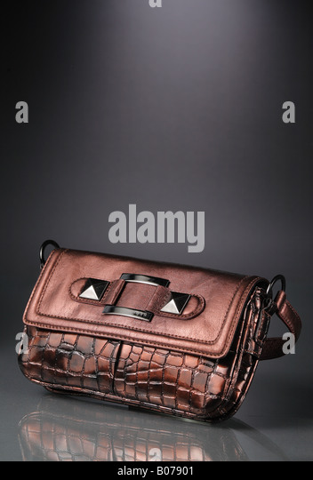 Fashionable women's purse - Stock Image