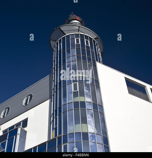Modern architecture, Dortmund, Germany. - Stock Image