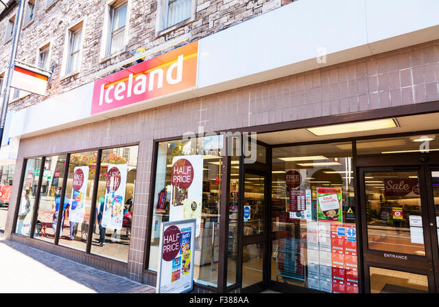 Online shopping iceland foods