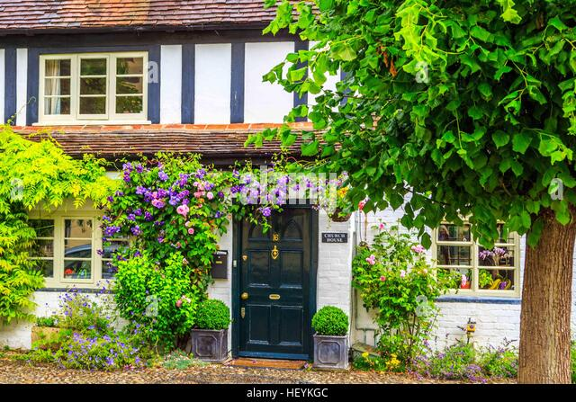 a lovely cottage in Ross on Wye, Hereford - Stock Image