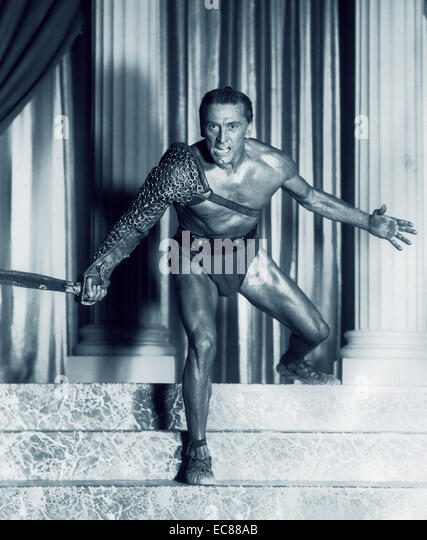 Still from the Film 'Spartacus' - Stock-Bilder