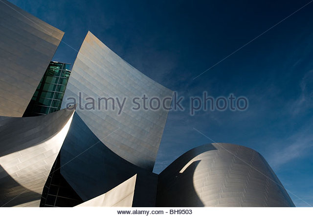 Walt Disney Concert Hall, Los Angeles, California, USA - Stock-Bilder
