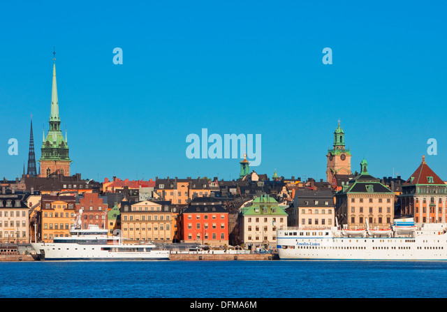 Sweden, Stockholm - The Old Town. - Stock Image
