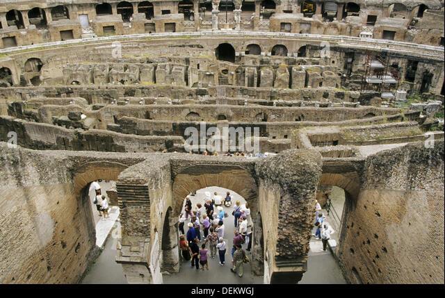 Vespasian Colosseum Stock Photos & Vespasian Colosseum