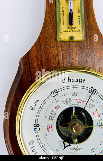 Household barometer - Stock Image