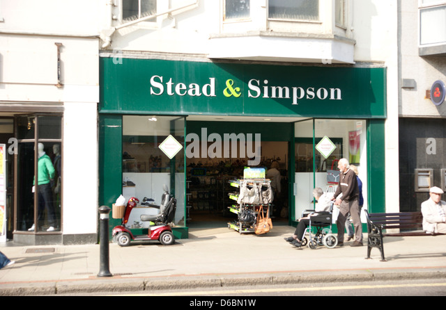 Stead And Simpson Shoes Uk