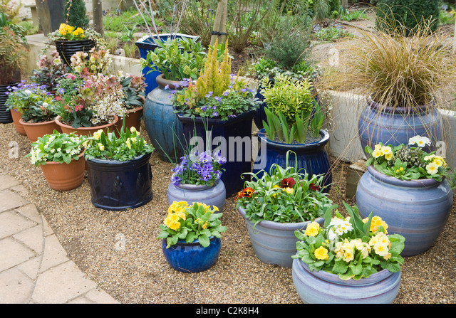 Container Gardens Stock Photos U0026 Container Gardens Stock Images - Alamy