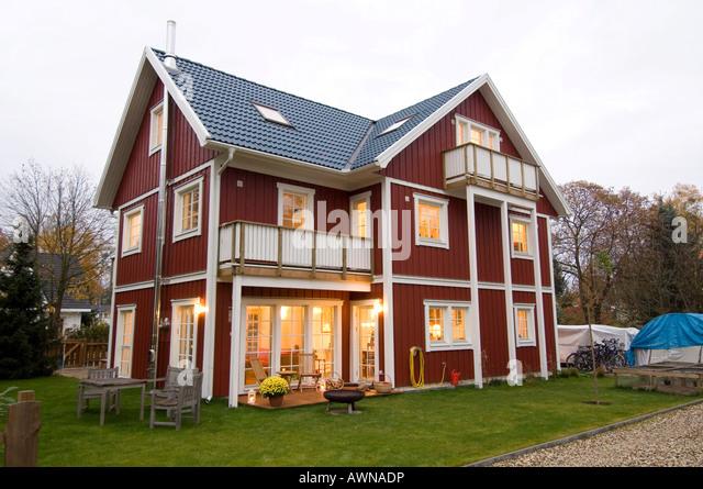Kleinmachnow Germany  city photos : Low energy house, Kleinmachnow, Brandenburg, Germany Stock Image