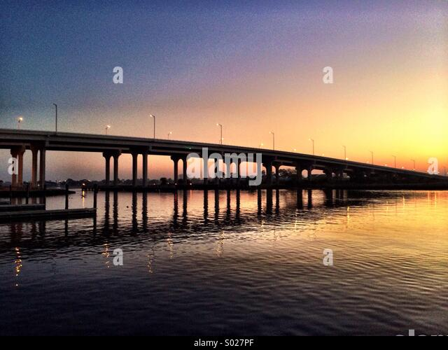 Beach Boulevard Bridge - Stock Image