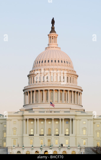 U.S. United States Capitol Building, Washington DC - Stock Image