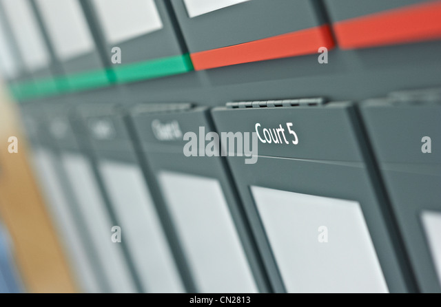 Court - Stock Image