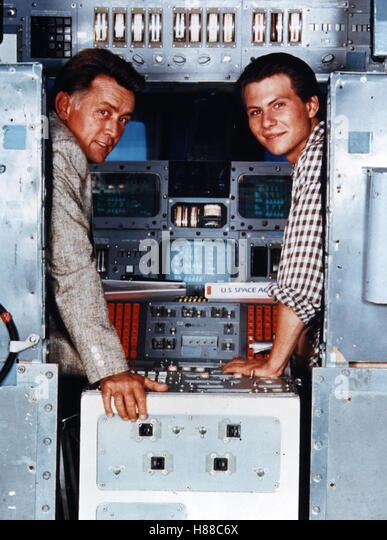 Moon Trek, (BEYOND THE STARS) USA 1989, Regie: David Saperstein, MARTIN SHEEN, CHRISTIAN SLATER, Stichwort: Cockpit - Stock Image