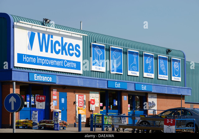 Wickes Home Improvement Centre DIY store - Stock Image