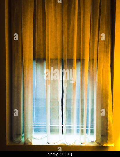 Curtains - Stock Image