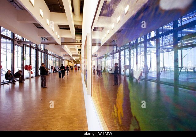 GEORGES POMPIDOU CENTER, PARIS - Stock Image