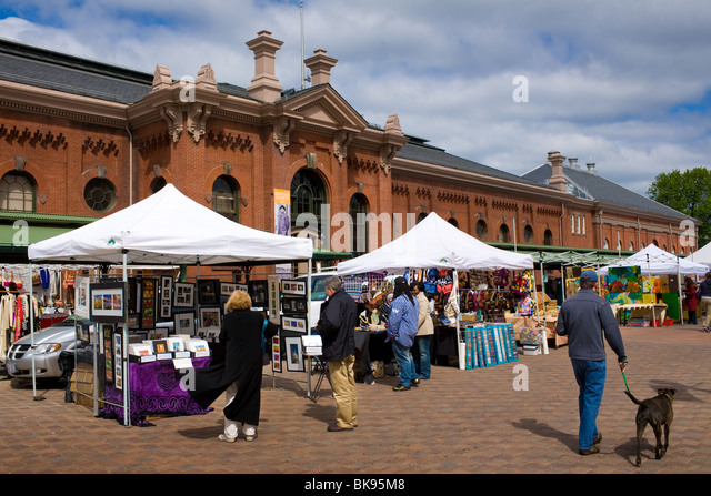 Eastern Market, Capitol Hill District, Washington D. C. - Stock Image