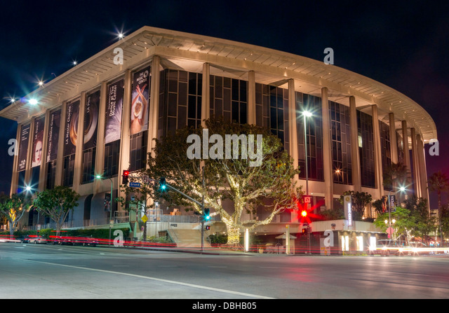Dorothy Chandler Pavilion, Los Angeles Music Center, California - Stock Image