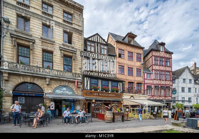 Restaurant A Rouen Place Du Vieux March Ef Bf Bd