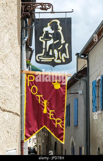 Pottery, Laruns, Pyrénées-Atlantiques, France. - Stock Image