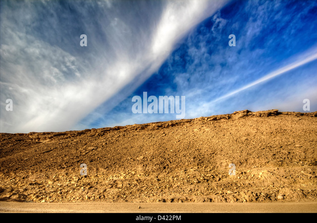 Land & Sky - Stock Image