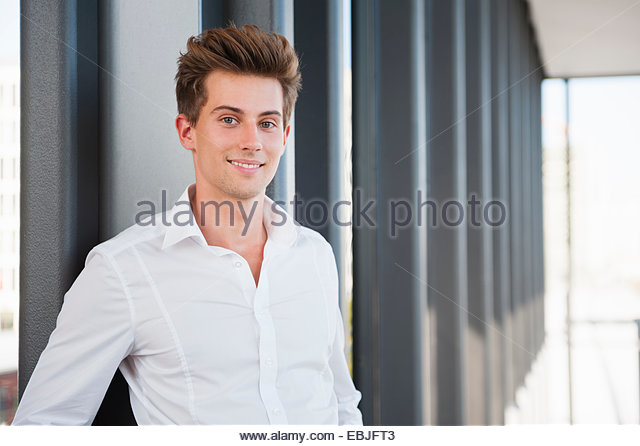 Portrait of young businessman - Stock-Bilder