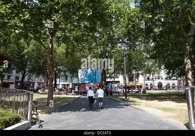 Leicester Square London England UK - Stock Image