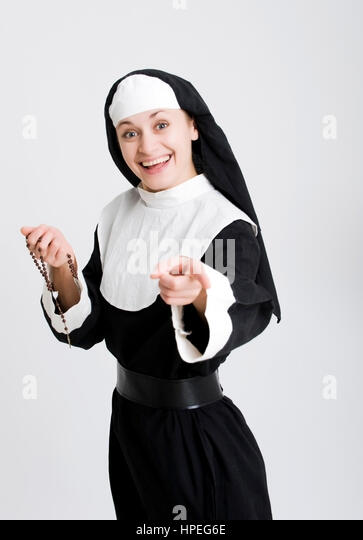 funny nuns stock photos funny nuns stock images alamy. Black Bedroom Furniture Sets. Home Design Ideas