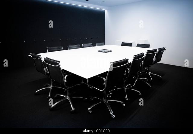 contemporary Conference room - Stock Image