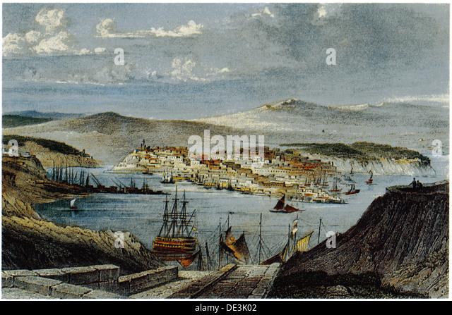 View of Sevastopol, c. 1850. Artist: Anonymous - Stock-Bilder