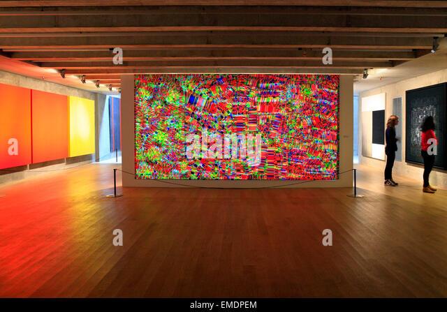 MACBA, Museum of Contemporary Art of Buenos Aires, San Telmo, Buenos Aires - Stock-Bilder